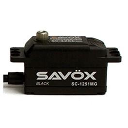 Savox Servo SC-1251MG Black