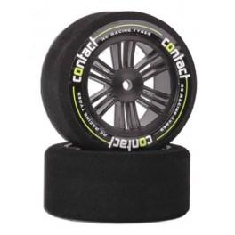 Contact RC Foam Rear Tires Carbon Black 30mm 37sh