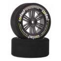 Contact RC Foam Rear Tires Carbon Black 30mm 42sh