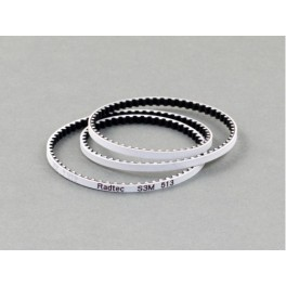 Radtec Low Friction White Front Drive Belt