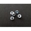 RC-PRO-SHOP M4 Flanged Wheel Nuts
