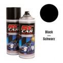 RC Car Colours Lexan Spray 150ml - Pure Black