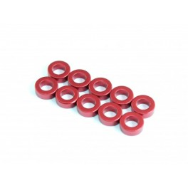 Radtec Alu Spacer 3.0 x 5.5 x 1.0mm Red