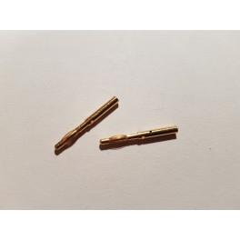 RC-PRO-SHOP Gold Connector 2mm (2pcs)